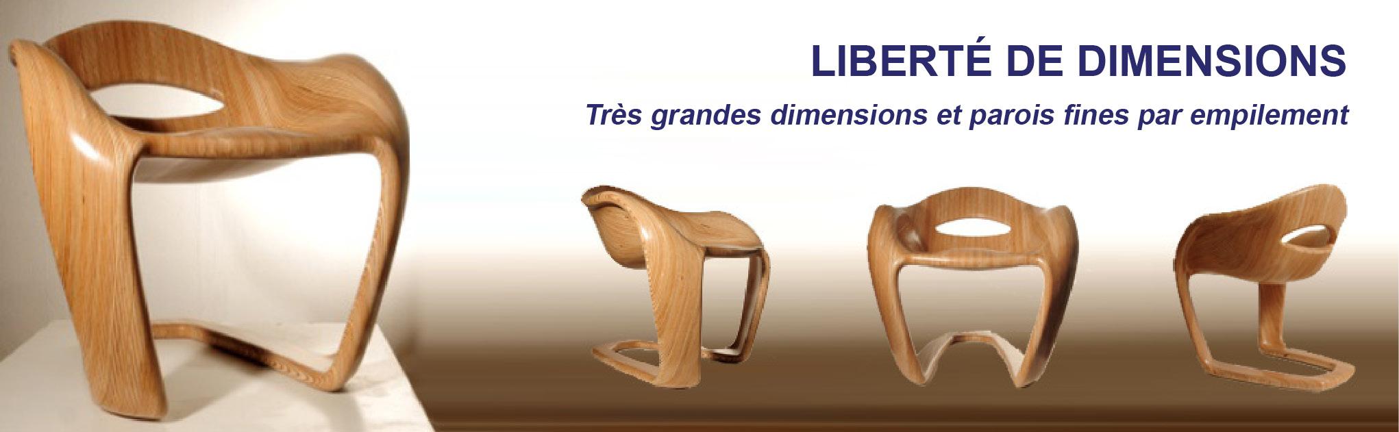 Liberté de dimensions